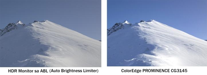 Auto Brightness Limiter vs ColorEdge prominence