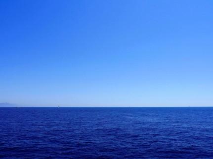 Horizon of the Adriatic sea