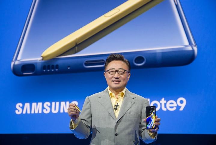 Samsung Galaxy Unpacked 2018_DJ Koh (1)