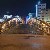 Ajfelov most u Sarajevi i zgrada Kantona Sarajevo